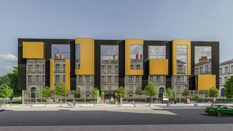 Budynek biurowy – Biznes Centrum Krakowska