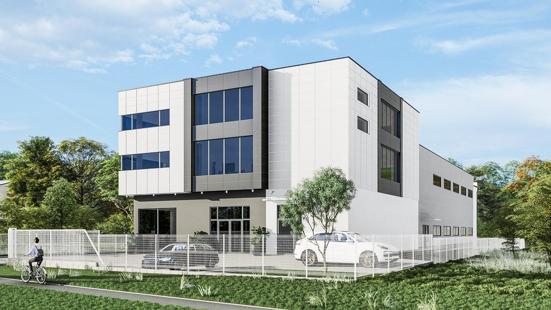 Budynek usługowo-magazynowy z funkcją biurowo-socjalną