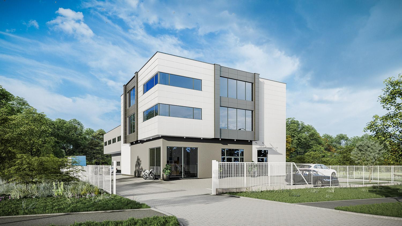 Budynek usługowo-magazynowy zfunkcją biurowo-socjalną