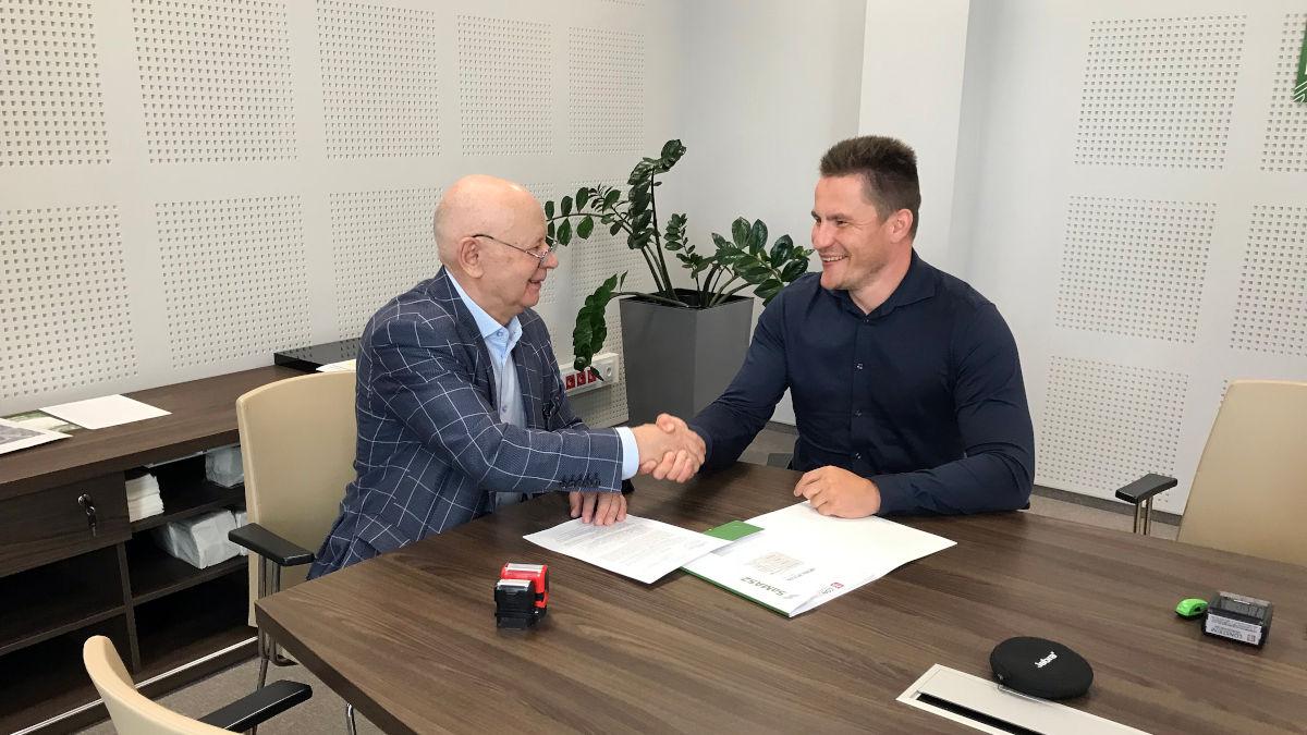 Kontrakt z firmą SaMASZ Sp. z o.o. - 17.08.2021